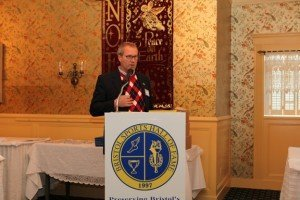 Robert Freimuth, Hall of Fame Inductee, was our featured speaker