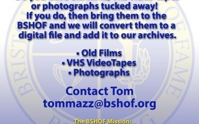 BSHOF Clean out for Video, Film Pictures